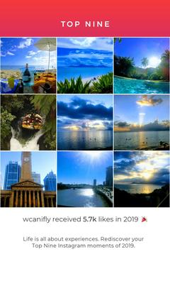 Where Can I FLY? Best Nine 2019 on Instagram